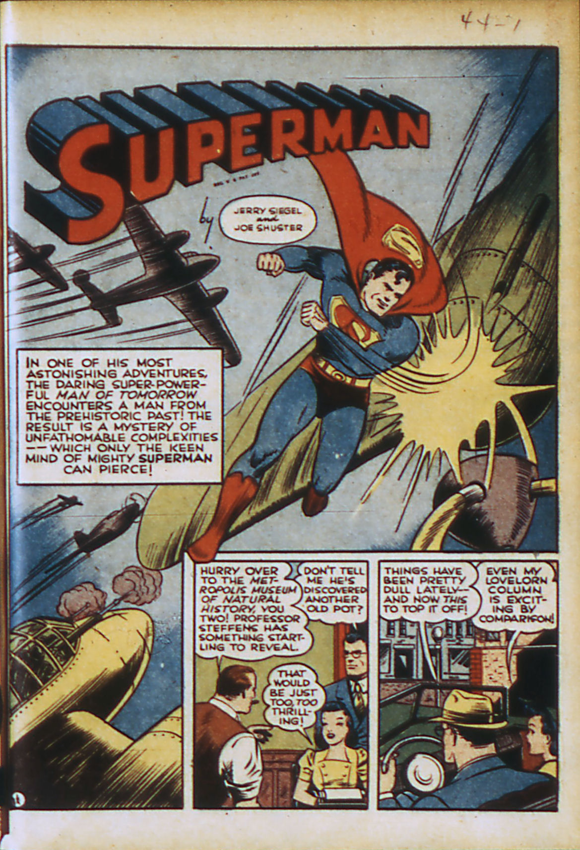 Read online Action Comics (1938) comic -  Issue #44 - 4