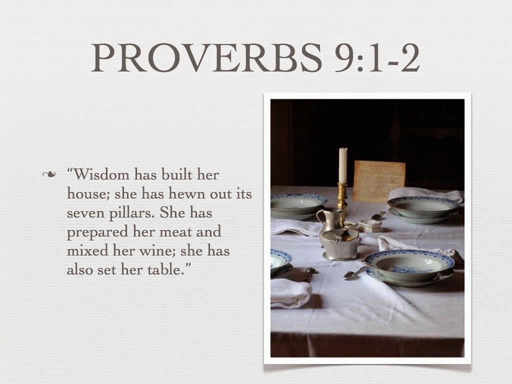 spreuken 9 God en gebed: De vreze des HEREN is het begin der wijsheid en het  spreuken 9