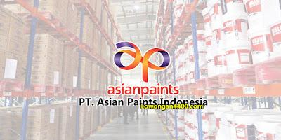 Lowongan Kerja Operator PT. Asian Paints Indonesia Karawang