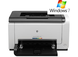 HP Laserjet P1025 - Windows 7