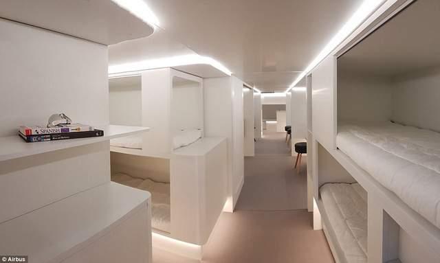 Năm 2020, hành khách đi máy bay sẽ có giường nằm? - Ảnh 1