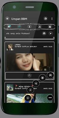 BBM MOD BLACK WHITE V3.1.0.13 APK
