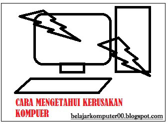 Cara Mengetahui Kerusakan Komputer