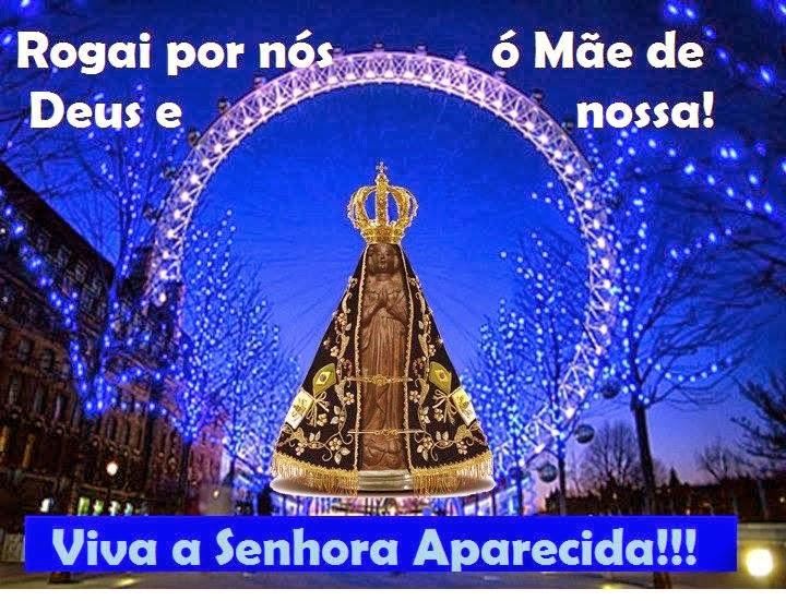 Querida Padroeira Do Brasil Abenç Frases Nossa Senhora: Comunicando Para Refletir: O POVO DE DEUS PRESTA HOMENAGEM