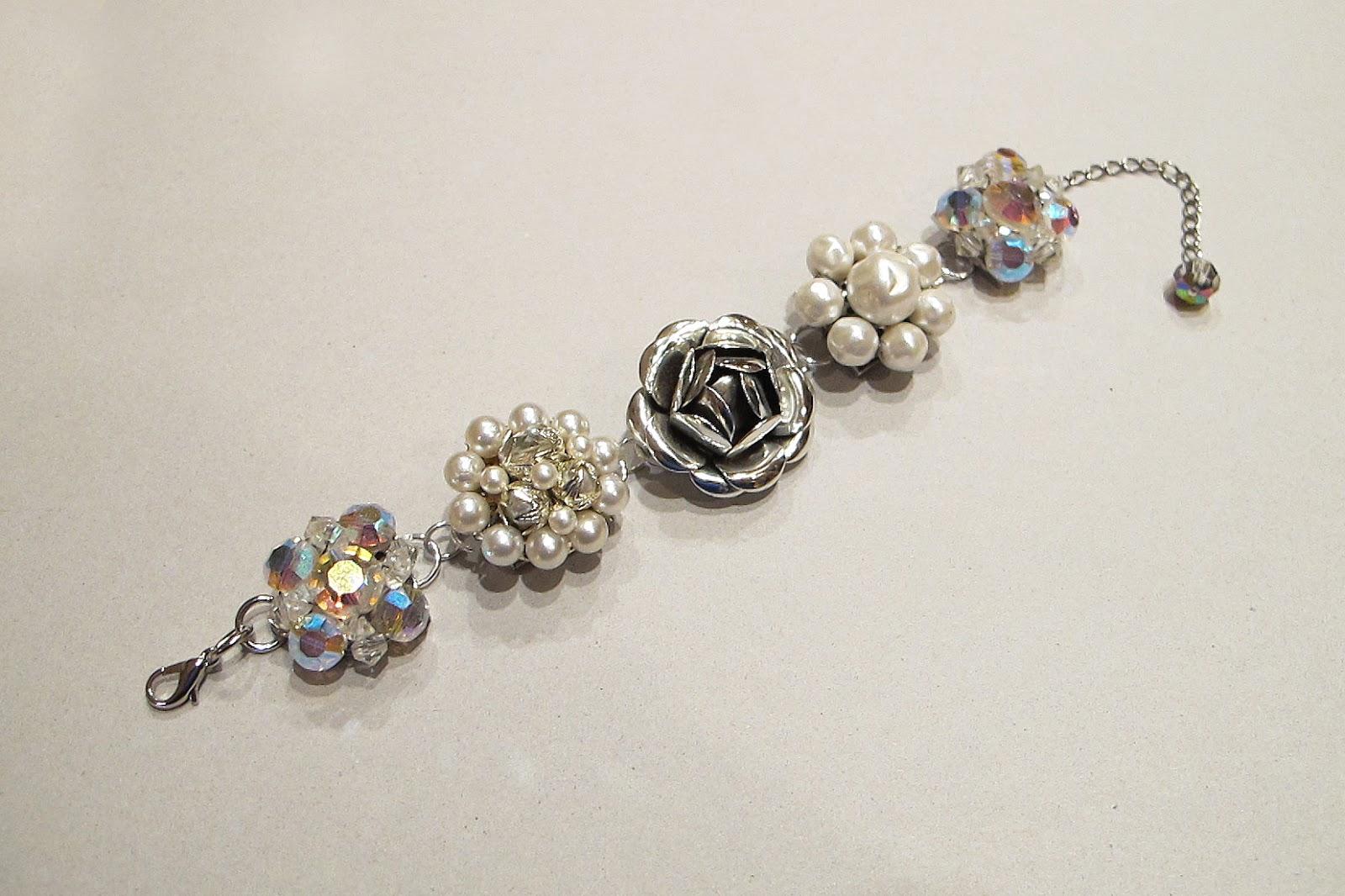 Just*Grand: Vintage Earring Bracelet