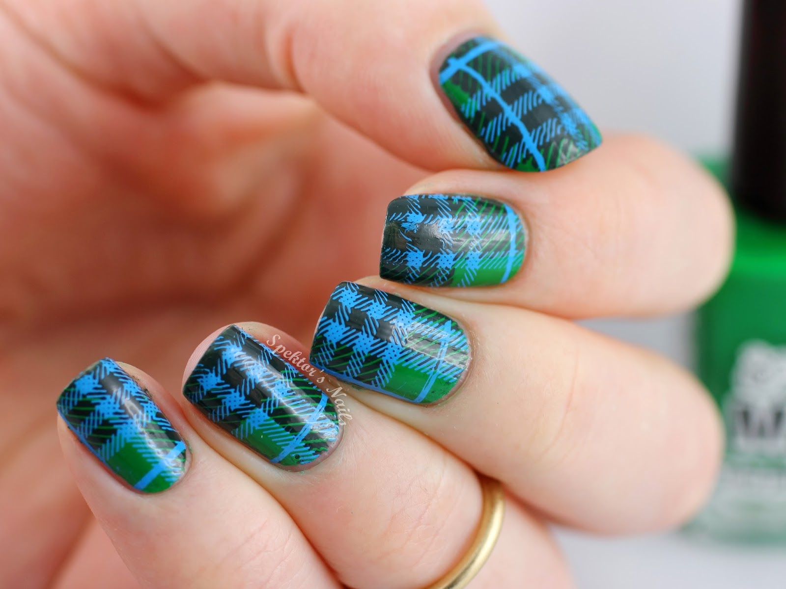 Mundo de Uñas Stamping MoYou London Hipster Plaid
