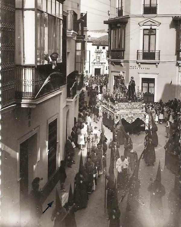 Foto de la Hermandad de San Esteban en 1953