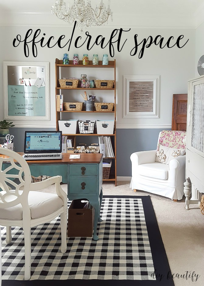 Favorite projects of the year diy beautify for Office dining room ideas
