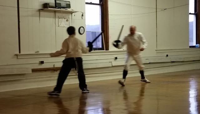 Something About Me Saturday:  Another Generation Takes A Stab At Fencing --How Did I Get Here? My Amazing Genealogy Journey