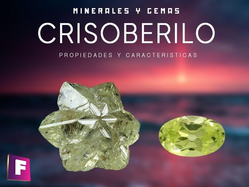 El crisoberilo es un mineral perteneciente a la clase de los oxidos y posee una bonita coloracion amarillo oro
