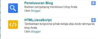 cara membuat widget recent posts di blogger