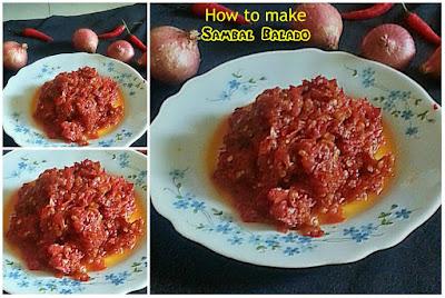 How to make Sambal Balado Recipe @ treatntrick.nlogspot.com