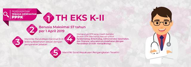 Persyaratan Tenaga Kesehatan PPPK 2019