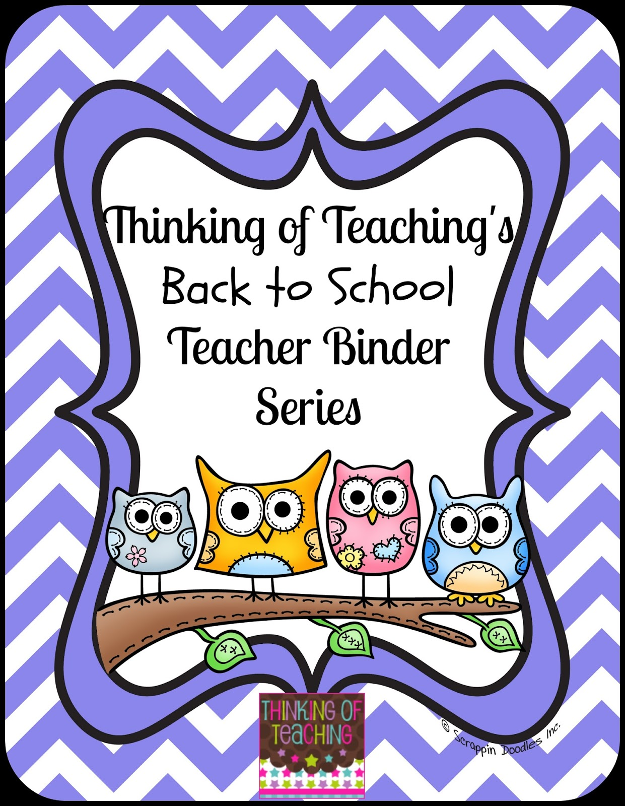 picture about Teacher Binder Printables known as Pondering of Instruction: Back again toward College or university Freebie Sequence