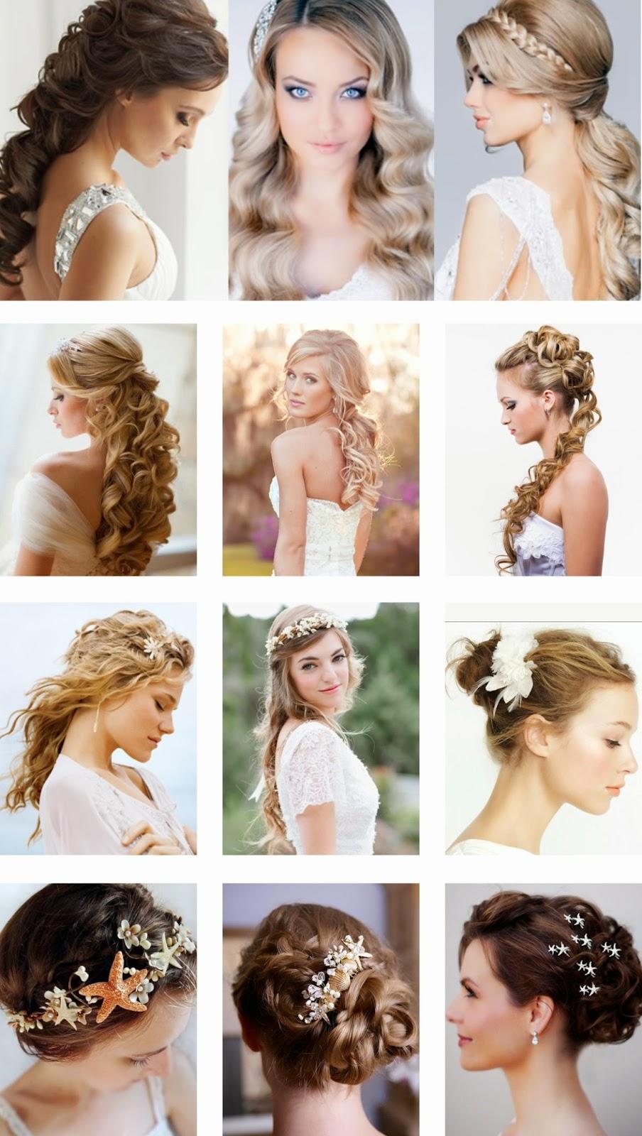 Peinados de novia boda en la playa
