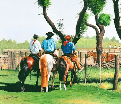 caballos+pintura