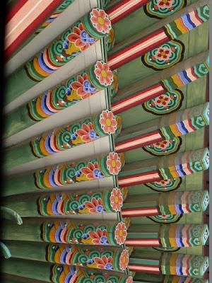 Alero del tejado del Palacio de Changdeokgung