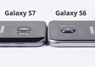Galaxy S7 flachere Kamera-Linse