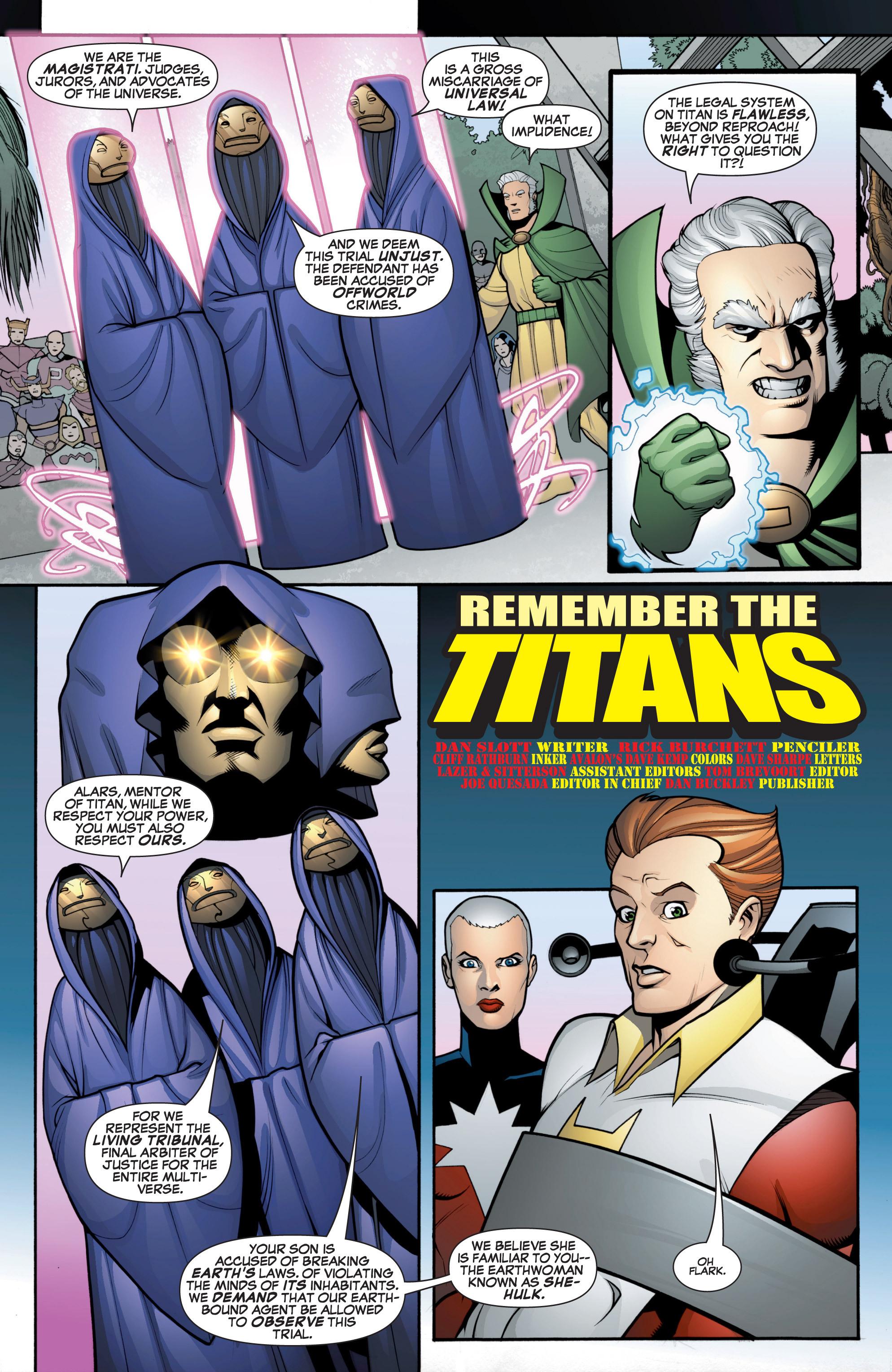 Read online She-Hulk (2005) comic -  Issue #12 - 3