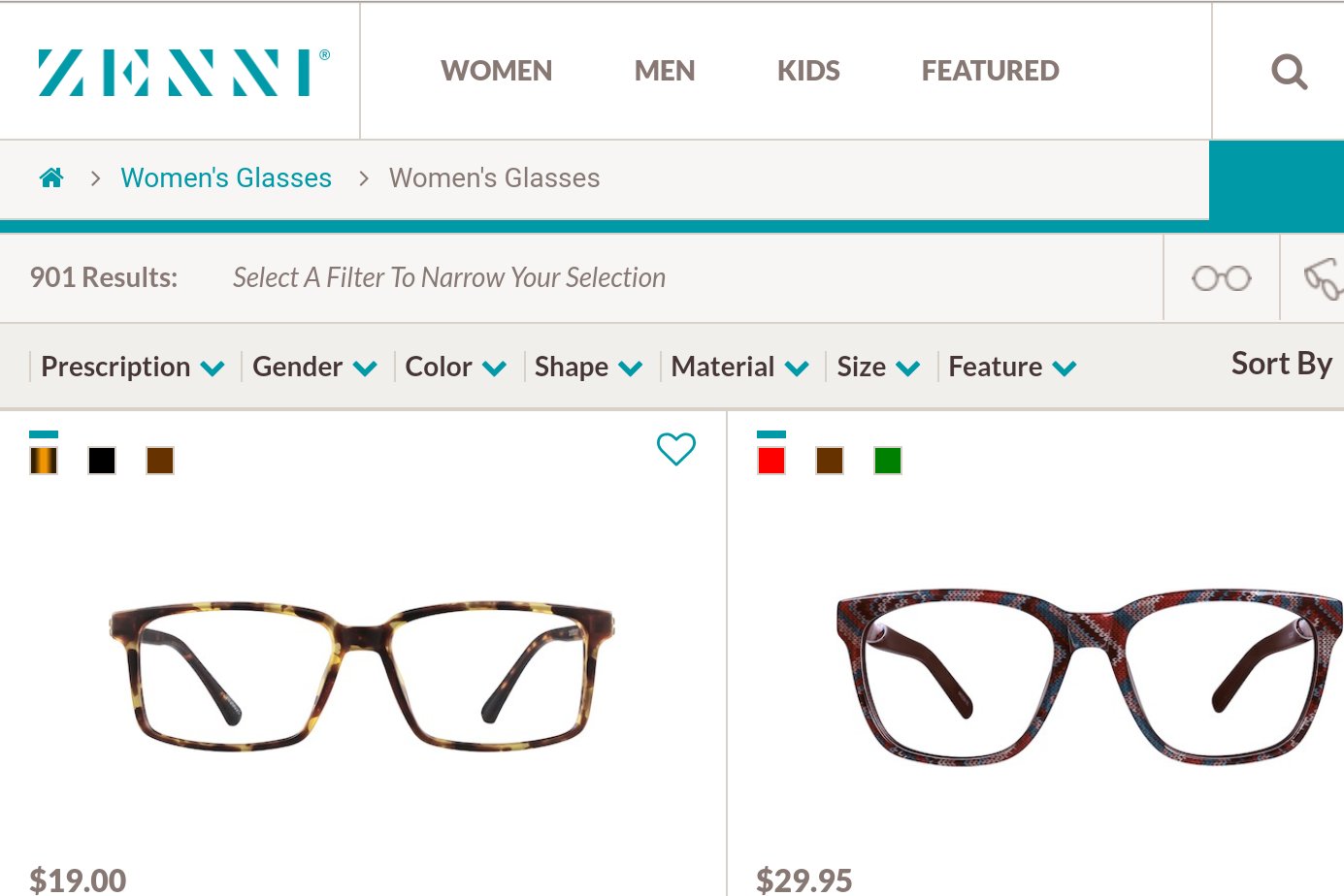 Living Richly In Retirement: Ordering Glasses Online-My
