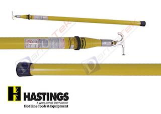 Jual Hasting Triangular Hot Stick 10,5 Meter