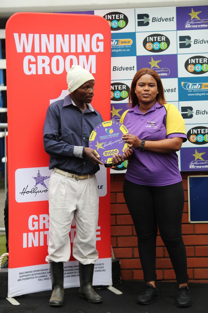 Grooms' Initiative Winners - 19th January 2020 - Hollywoodbets Greyville - Race 3 - Sipho Ngayeka - DI MAZZIO