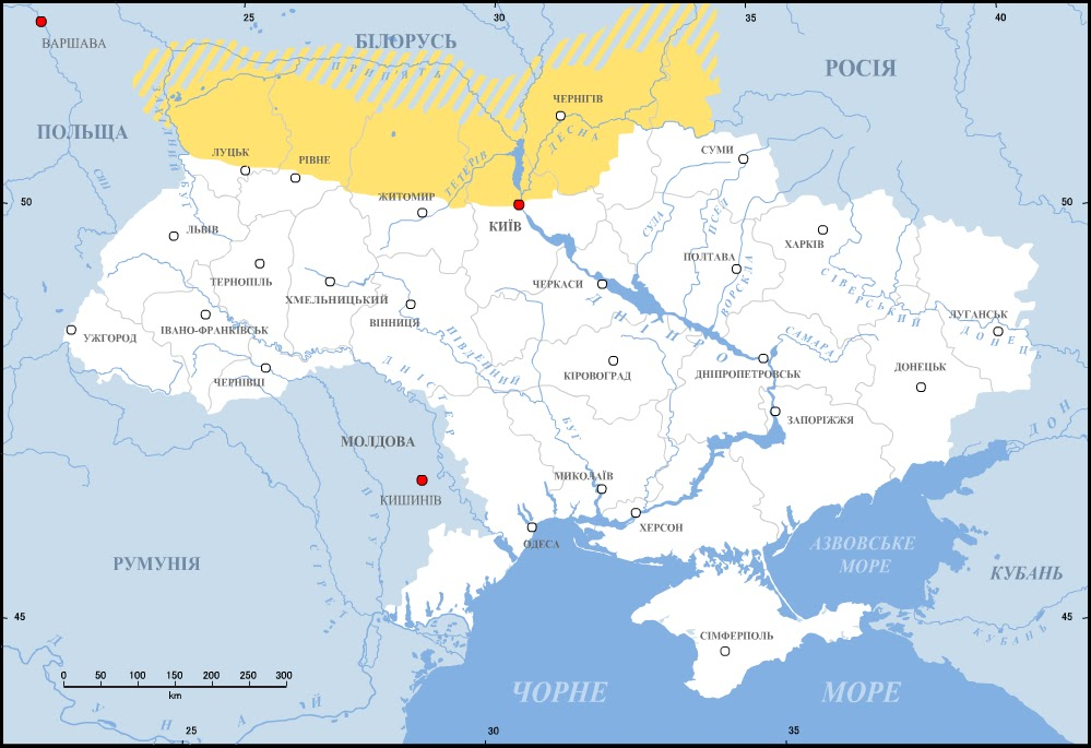 Current Borders Ukraine