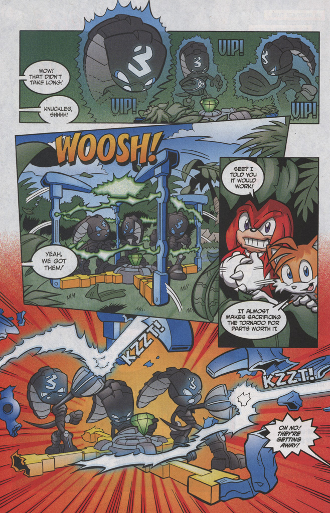 Read online Sonic The Hedgehog comic -  Issue #191 - 22