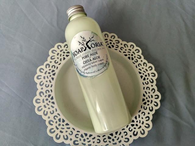 Soaphoria telový jogurt Aloe Vera