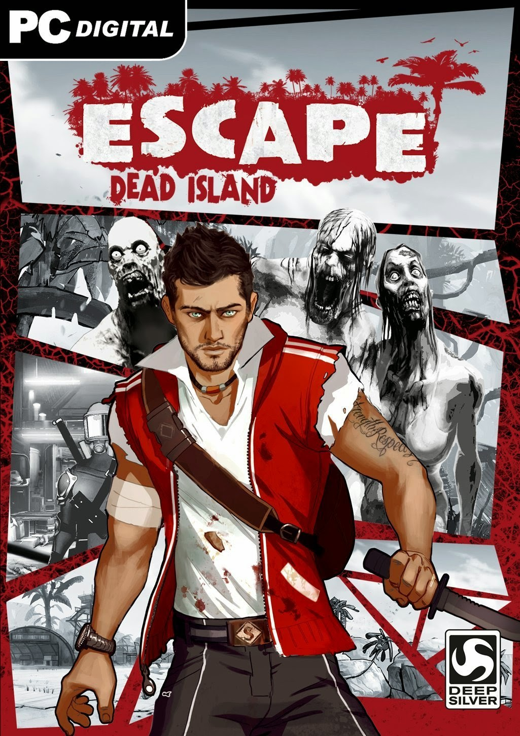 Escape Dead Island PC Cover Caratula