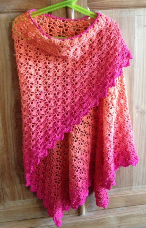 South Bay Shawlette - Free Pattern