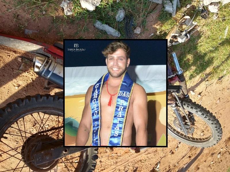 7648fb57f Modelo de São João da Barra morre em acidente de moto na praia de Atafona