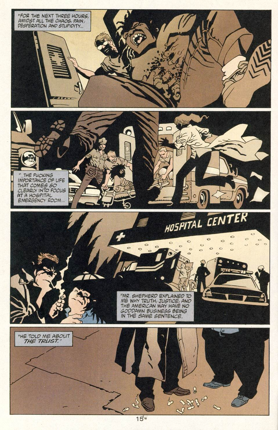 Read online 100 Bullets comic -  Issue #14 - 17