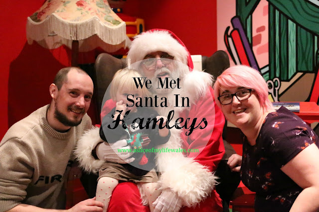 Review of Hamleys Santa Christmas parties in Cardiff store