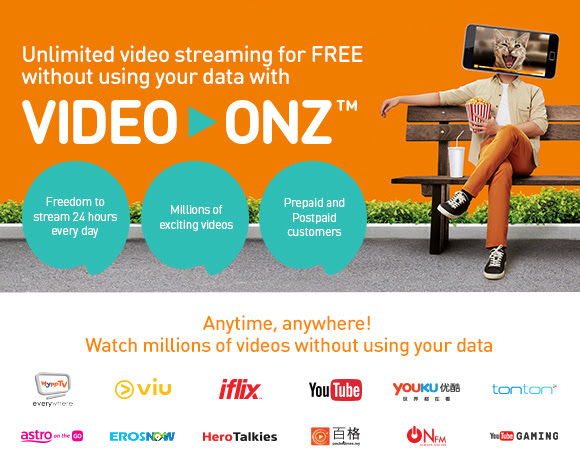 U Mobile Free Unlimited Video Streaming
