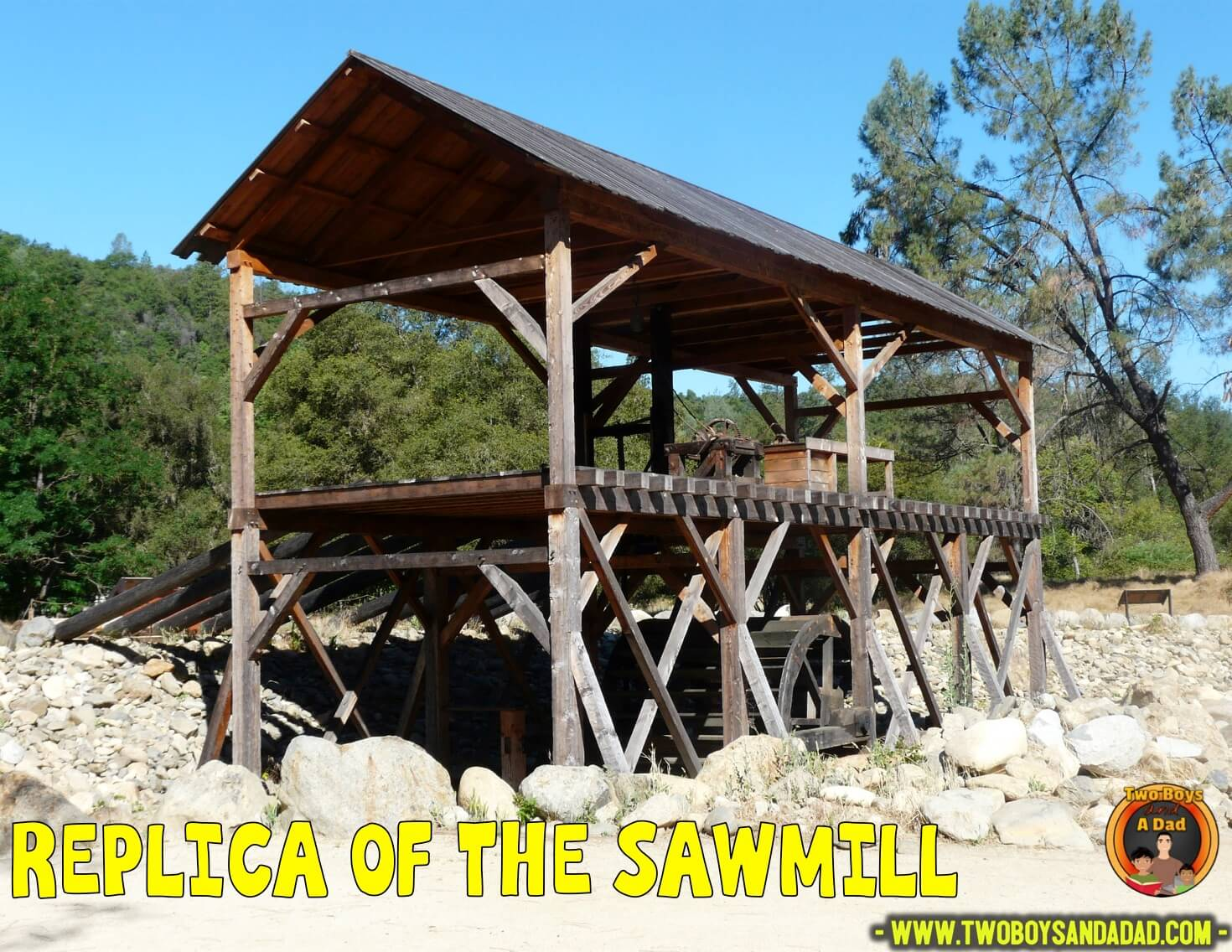 Replica of the sawmill