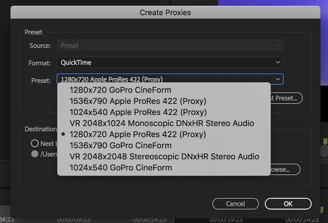 Create Proxies