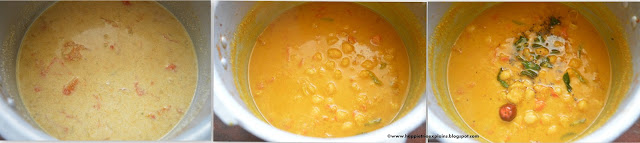 Step 3 -Channa Gravy | Chick Peas Gravy