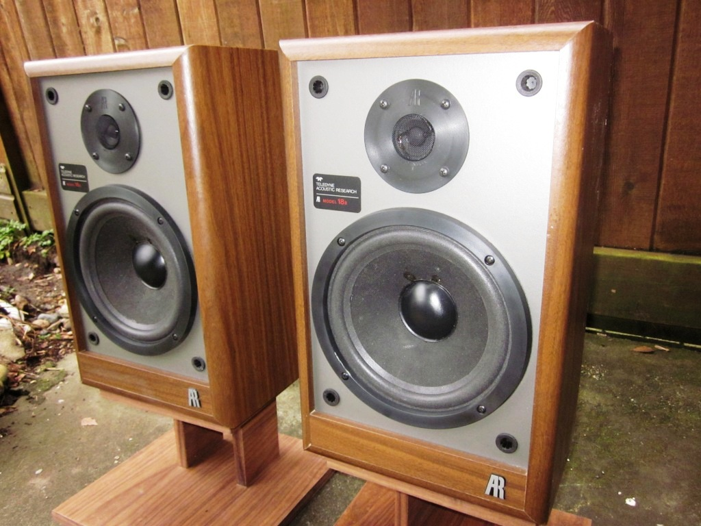 My Second Pair Of Acoustic Research Speakers To Grace This Blog The AR 18B Last Was A 15s That Needed Extensive Restoration