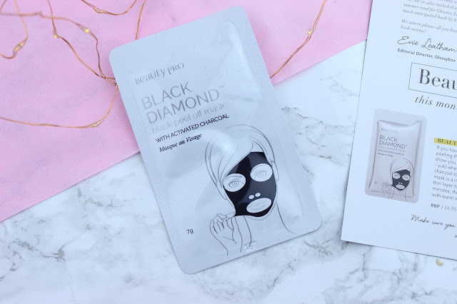 Beautypro Black Diamond Peel Off Mask with Activated Charcoal