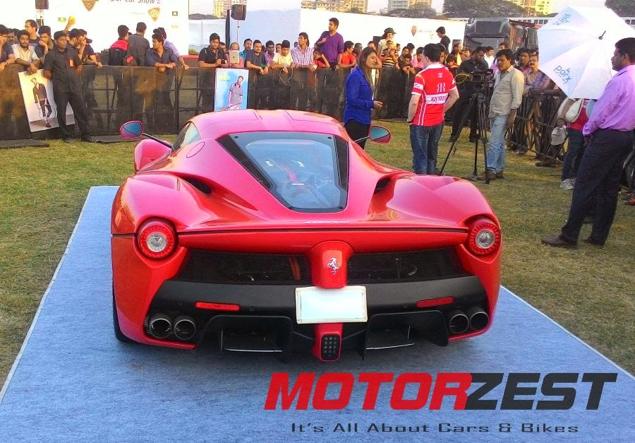 LaFerrari at 2015 Parx Super Car Show in Mumbai