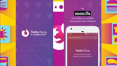 آخر تحديث متصفّحFirefox Focus مع واجهة ومحرك بحث جديد الأندرويد و الايفون