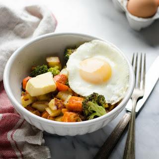 Paleo Roasted Vegetable Breakfast Bowls