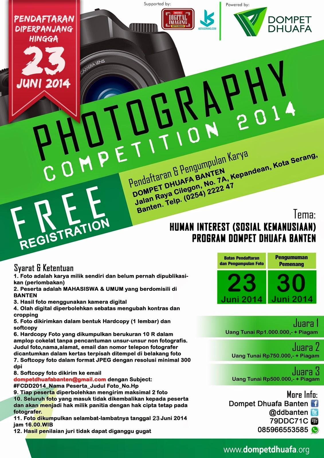 Dompet Dhuafa Banten Photography Competition 2014