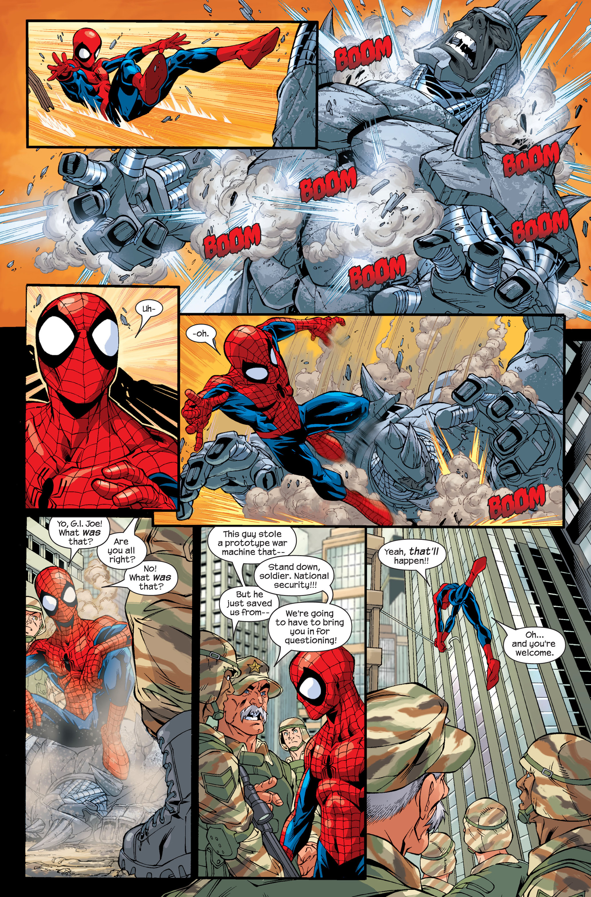 Read online Ultimate Spider-Man (2000) comic -  Issue # Annual 1 - 9