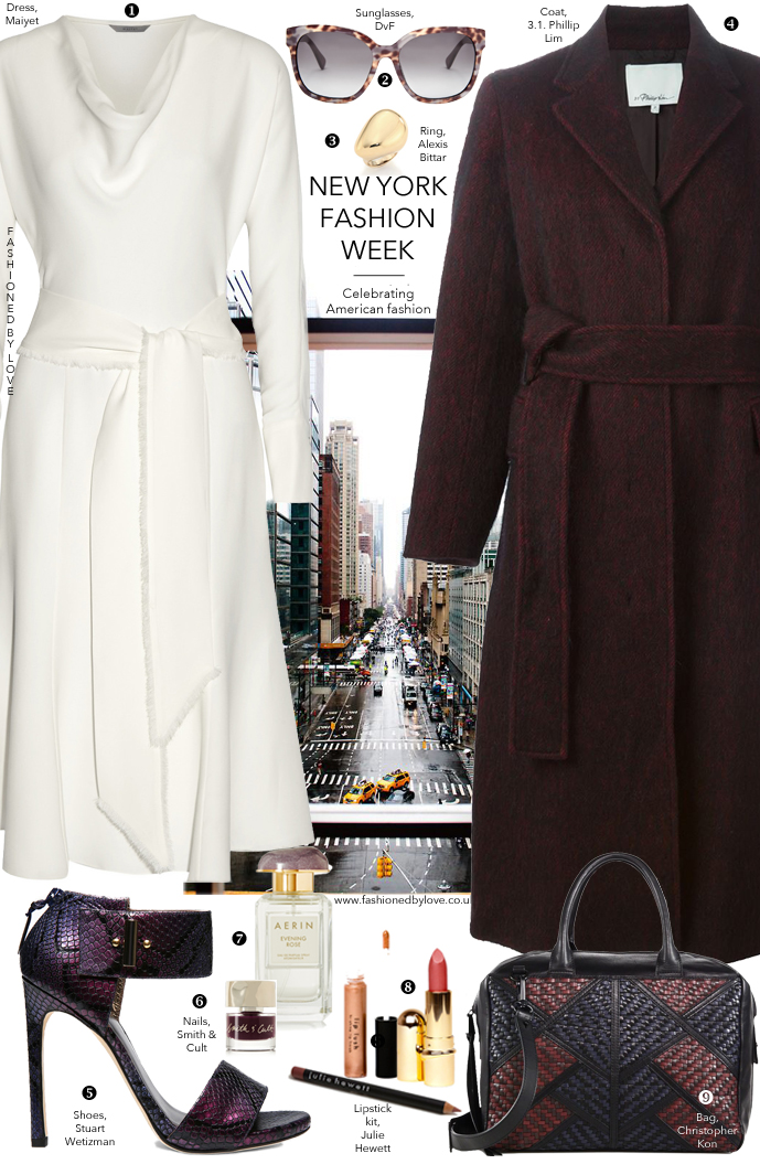New York style / NY fashion week outfit inspiration and ideas via www.fashionedbylove.co.uk / Maiyet, Phillip Lim, Diane von Furstenbergh, Alexis Bittar