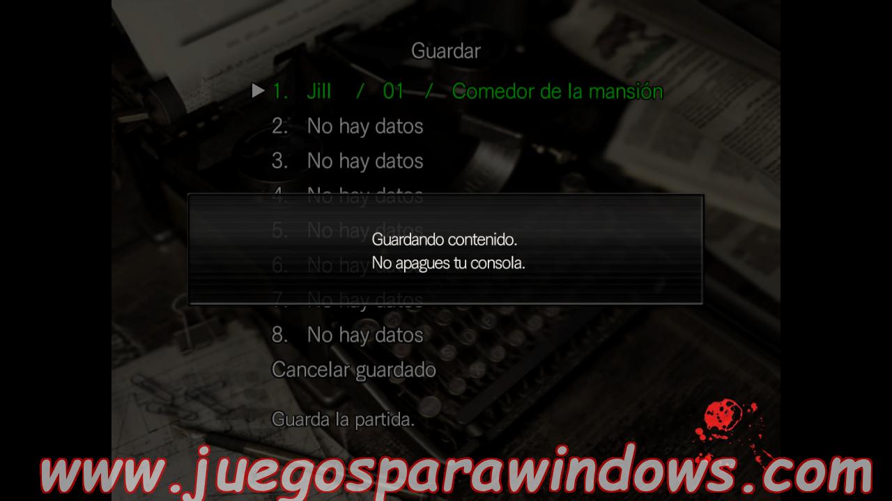 Resident Evil HD Remaster Multilenguaje ESPAÑOL XBOX 360 (RGH/JTAG) 28