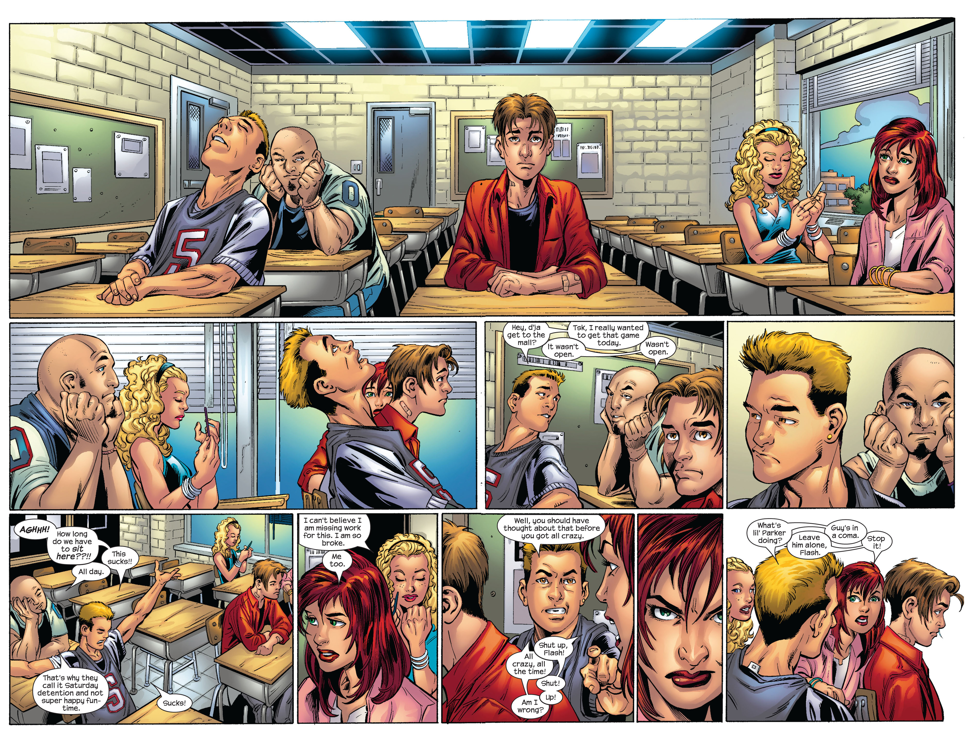 Read online Ultimate Spider-Man (2000) comic -  Issue #65 - 3