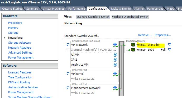 vCloudNotes : Information Sharing: How to add another NIC