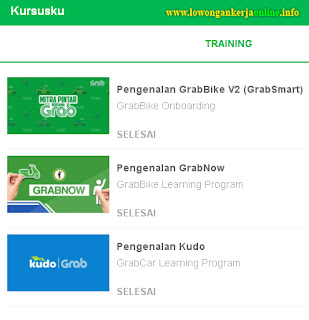 Online Training Grabbike